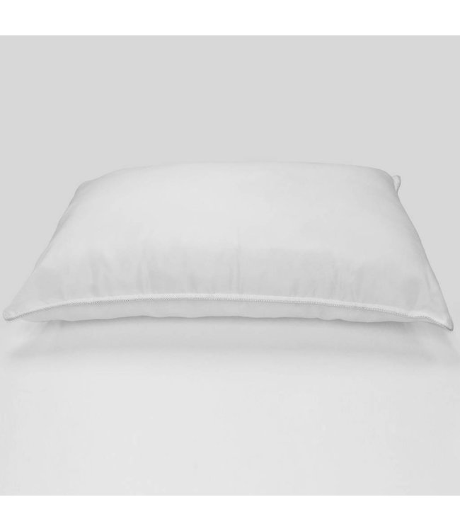 Studio 707 Microfiber pillow with embellished piping on seams