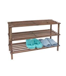 Maison Condelle 3-Tier Stackable Wood Shoe Rack