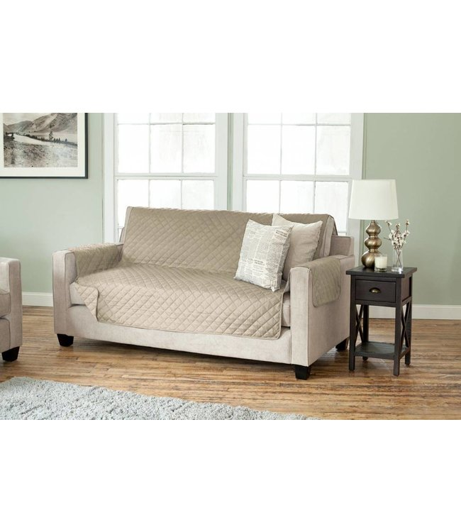 Lauren Taylor Diamond Quilted Furniture Slip Covers
