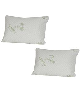 Maison Blanche Waterproof Bamboo Pillow Protectors - Pack of 2