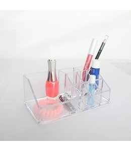 Studio 707 Clear Rectangular Costmetic Organizer