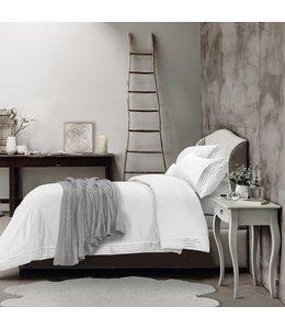 Lauren Taylor Hotel Pleated 300TC Cotton Duvet Cover set
