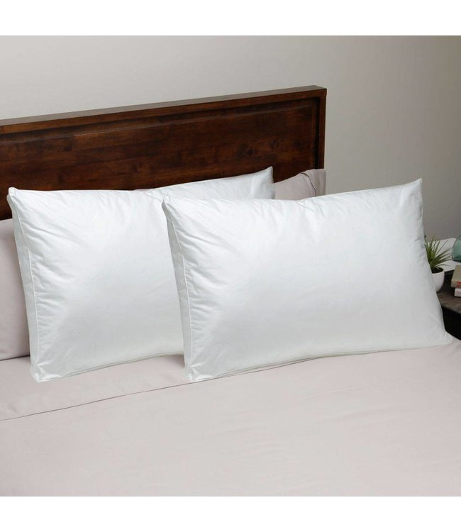 W - Home Microgel Fiber Pillows - Soft Support