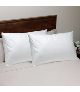 W - Home Micro-Gel Fiber Pillows - Medium Support
