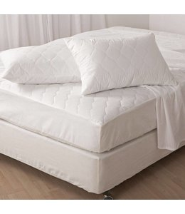 Lauren Taylor Waterproof Mattress Protector - Double