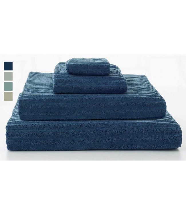 Lauren Taylor Ribbed Cotton Terry Towels