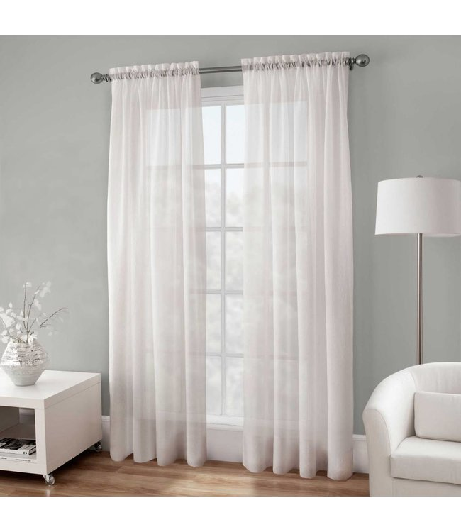 Maison Condelle Basic Elegance Sheer Window Panels - 54 x 84""
