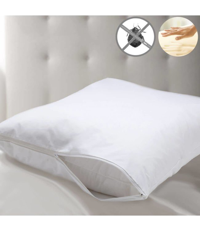 Studio 707 Memory Foam Pillow with Bed Bug Protector