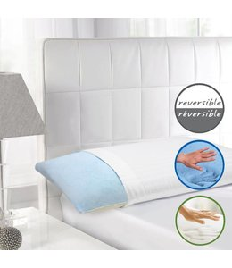 Maison Blanche Reversible Gel Memory Foam Pillows