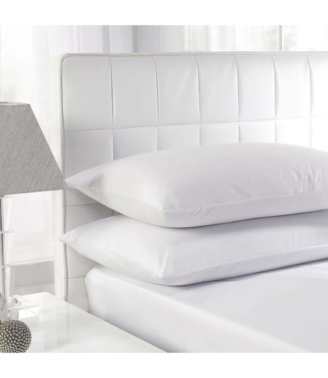 Sandra Venditti White Duck Feather Standard Pillows - Twin Pack