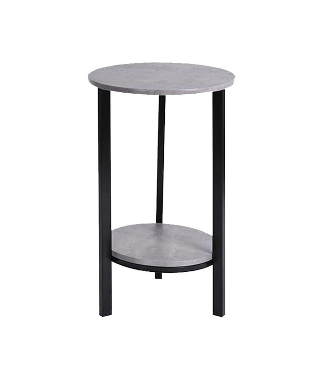 Maison Condelle Round Wood Accent Table