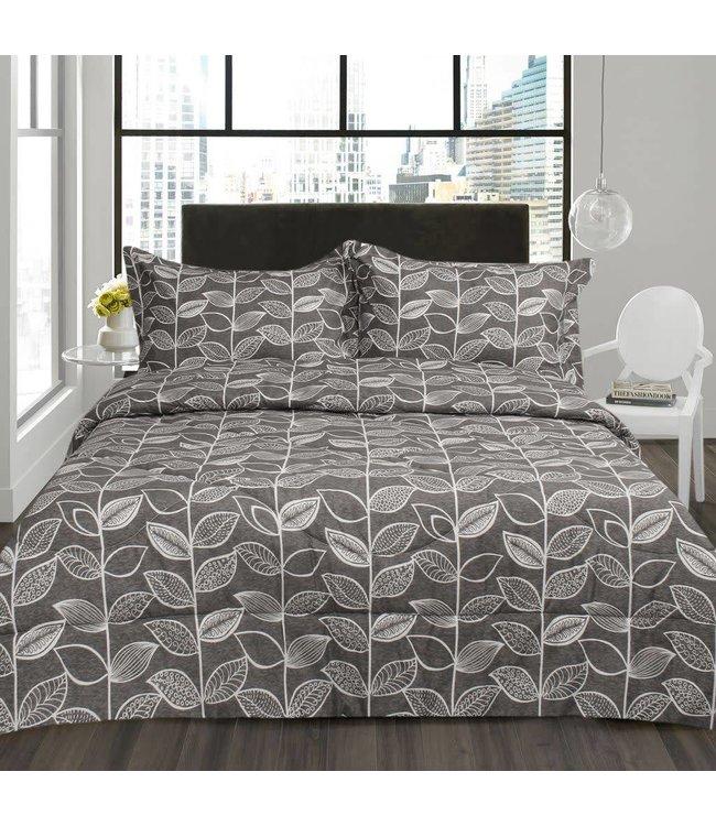 Lauren Taylor Voss 3 Piece Micro-Fiber Comforter Set