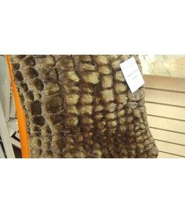 Lauren Taylor Faux Fur Toss Cushion