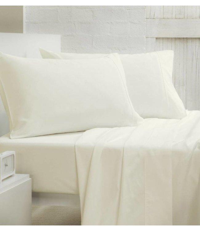 200 Thread Count Cotton Blend Solid Color Pillow Shams