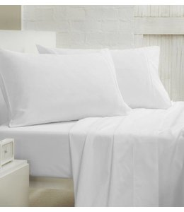 300 Thread Count 17 Inch Deep Cotton Fitted Sheets