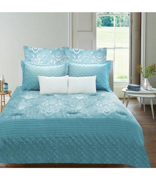 Lauren Taylor Zahra 7 Piece Micro-Fiber Comforter Sets