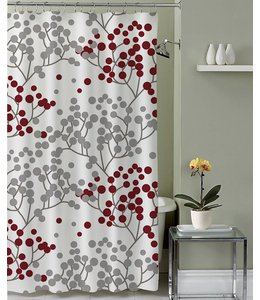 Lauren Taylor Adela Fabric Shower Curtain