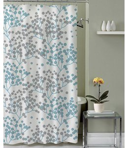 Lauren Taylor Adela Micro-Fiber Shower Curtain