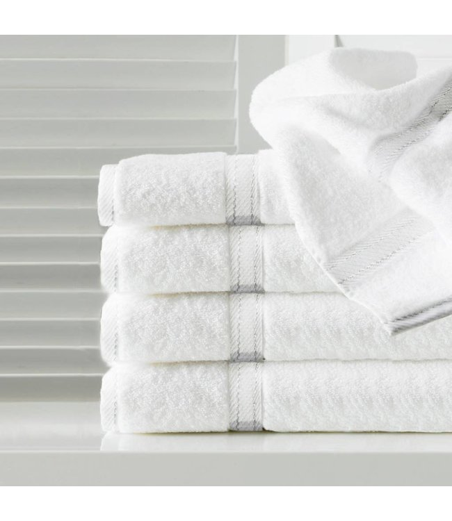 Sandra Venditti Bamboo and Cotton Blend Terry Towels