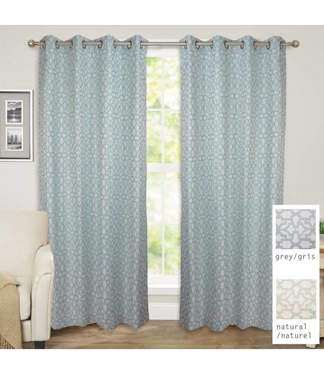 Lauren Taylor Alena Jacquard Window Panels