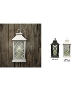 Lauren Taylor LED White Candle Lantern
