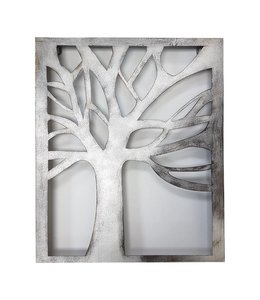 Bare Metal Tree Wall Art