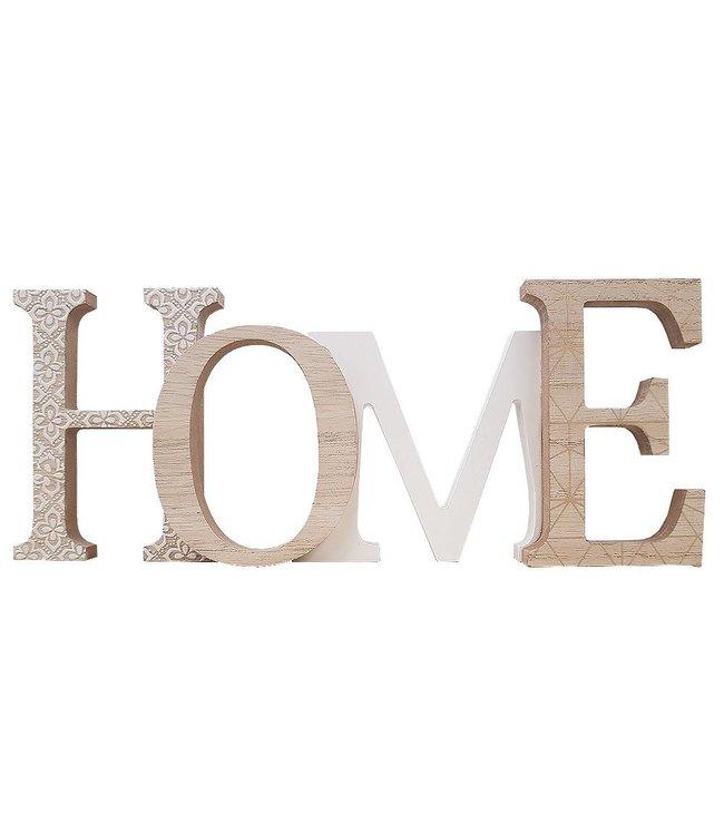 "Decorative Wood ""Home"" Wall Art"
