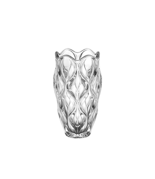 Lauren Taylor 12 Inch Sculptured Glass Vase