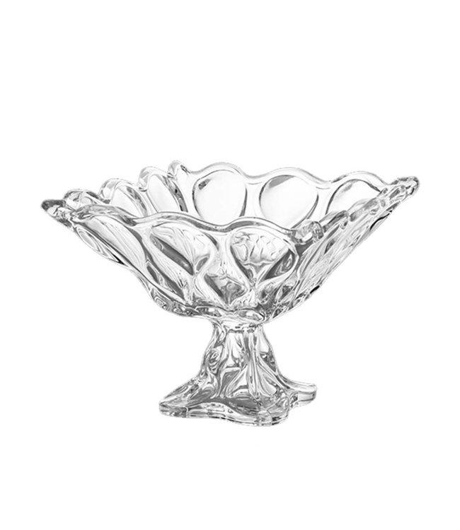 Lauren Taylor 8.5 Inch Sculptured Glass Bowl