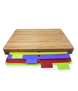 Studio 707 5 Piece Bamboo Cutting Board Set