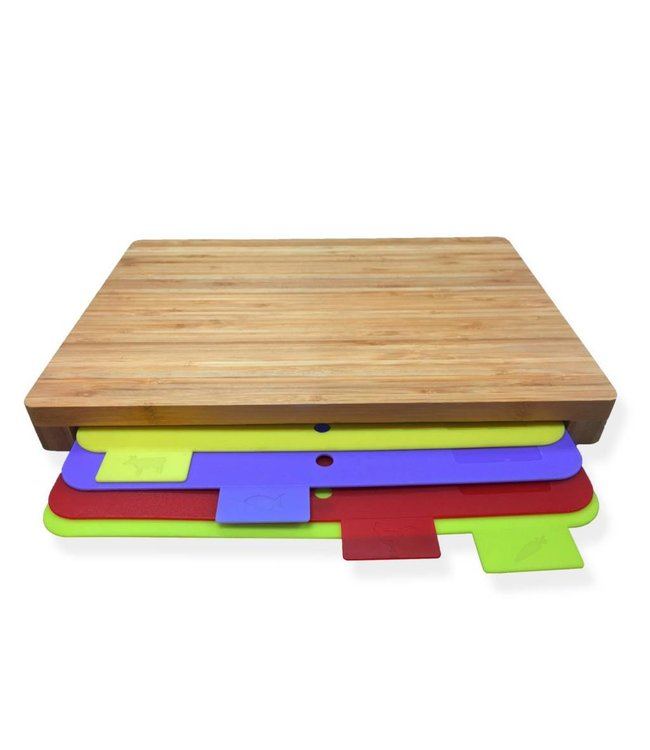 Studio 707 5 Piece Bamboo Cutting Board Set