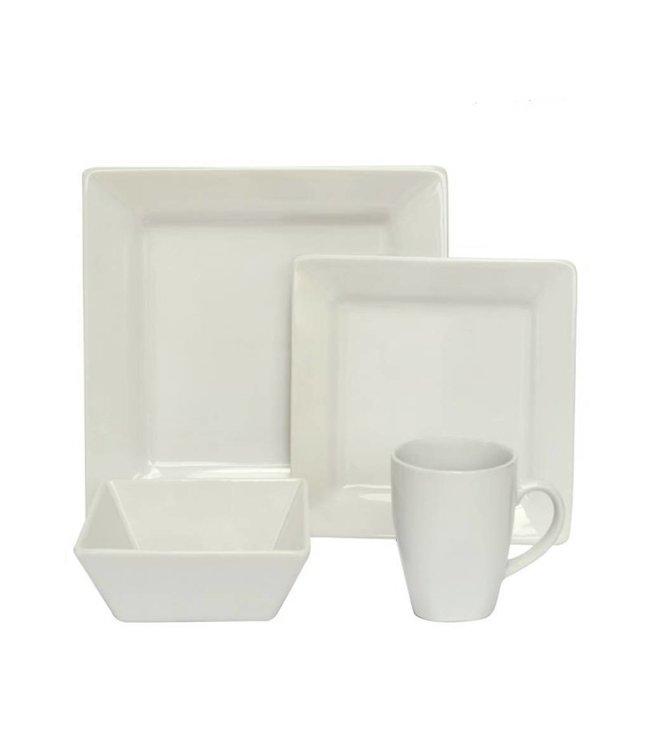 Sandra Venditti 16 PC Stoneware Dinnerware Set