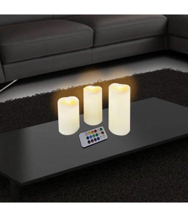 Studio 707 3 Piece LED Candle Set