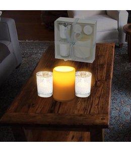 Studio 707 3 Piece LED Candle Gift Set