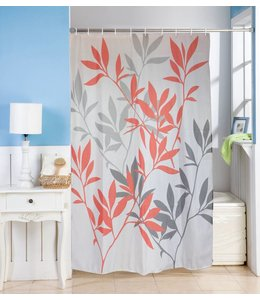 Studio 707 Leana Microfiber Shower Curtain and Hook Set