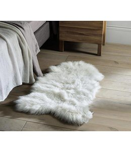 Adrien Lewis Faux Fur Sheepskin Accent Rug