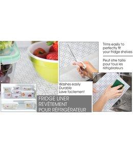 A. La. Cuisine Decorative and easy clean non slip fridge liners