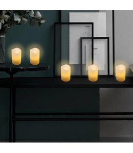 Studio 707 Flameless LED White Votive Candles - 6 Pack