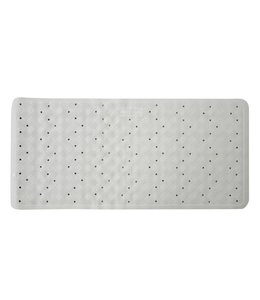 Studio 707 Rubber Bath Tub Mat - White