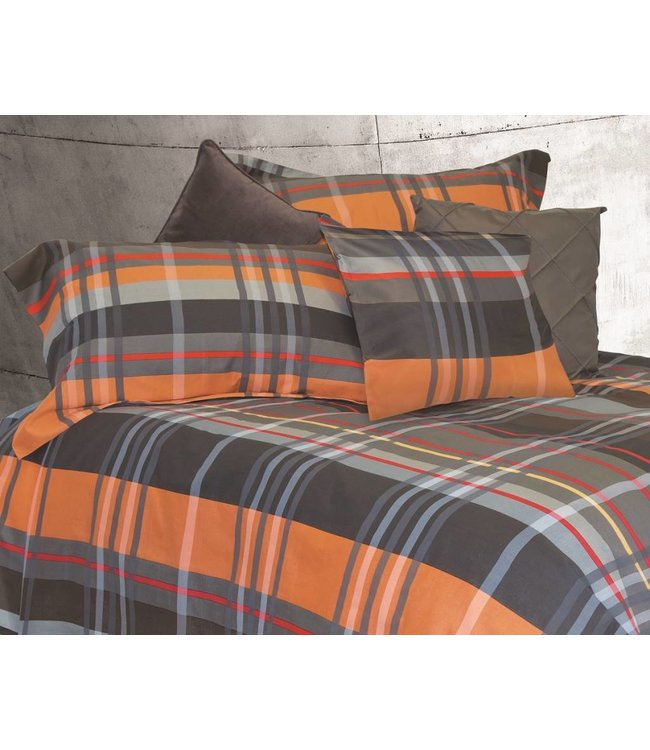 Brunelli Johnny Plaid Duvet Cover & Pillow Sham Sets