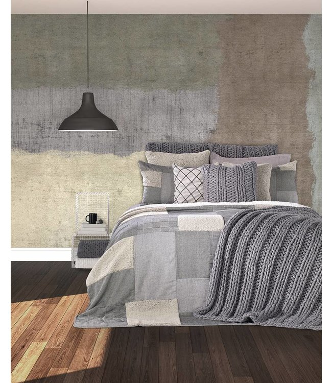 """Brunelli """"Ben"""" Patchwork Quilted Bedding Collection"""
