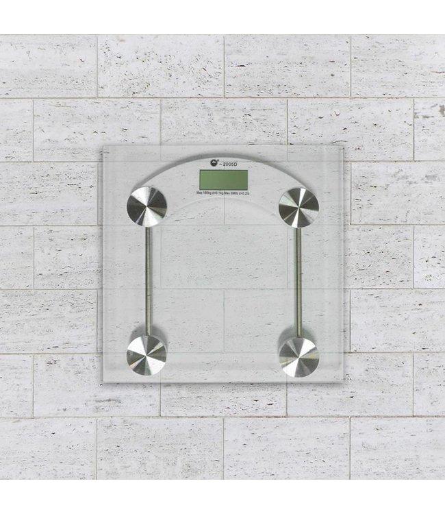 Adrien Lewis Digital Glass Personal Bathroom Scale