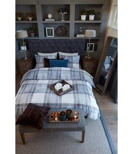 Brunelli Blake Plaid Cotton Flannel Duvet Cover Set