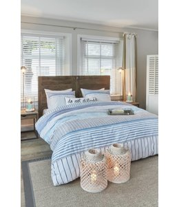 Brunelli Corniche Cotton Duvet Cover & Pillow Sham Set