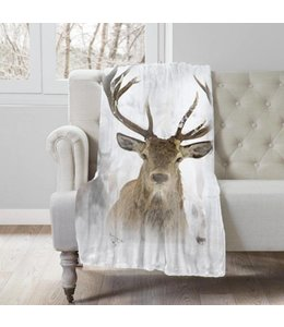 "Lauren Taylor Wildlife Throw 50"" x 60"", Cozy Cabin Collection"