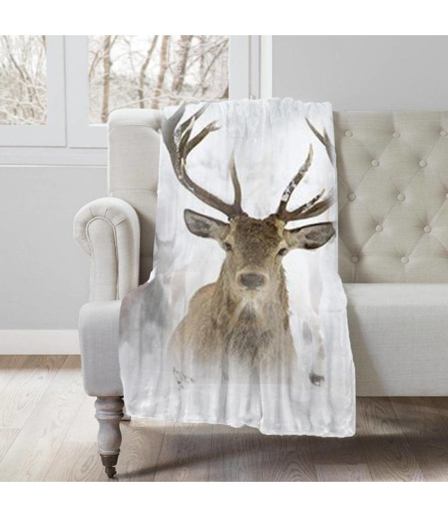 "Lauren Taylor Wildlife Throw, 50"" x 60"", Cozy Cabin Collection"