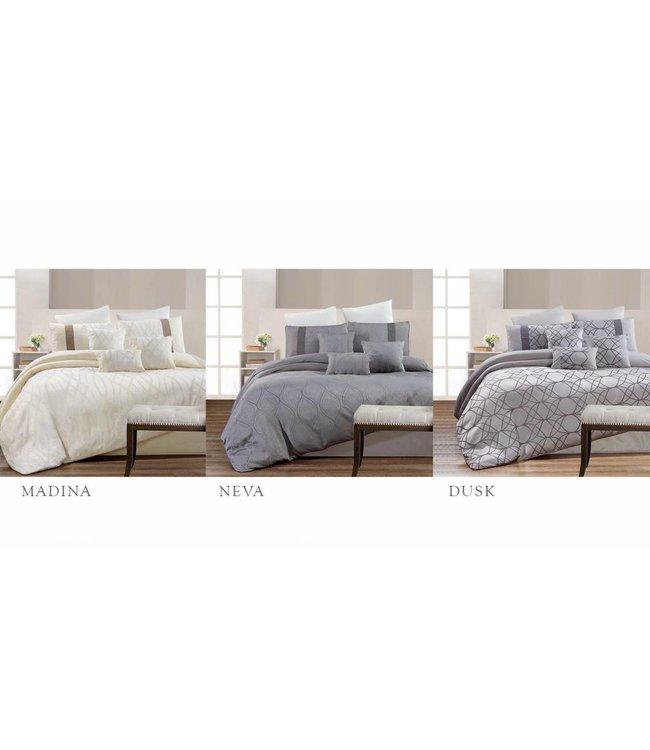 Lauren Taylor 7 Piece Jacquard Comforter Sets - King