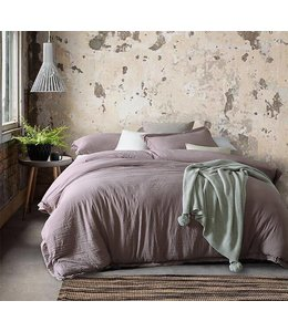 Adrien Lewis 3 Piece Stone Washed Microfiber Duvet Cover Sets - Queen