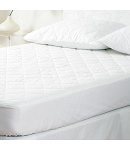W-Home 200 GSM Triple Cotton Mattress Pad with 17 Inch Pocket