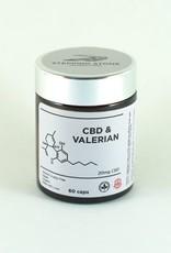 CBD & Valerian Root, 60 capsules